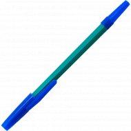 Ручка шариковая «Союз» синяя, цветной корпус.