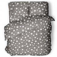 Комплект постельного белья «Samsara» Grey Stars, двуспальный, 200-15