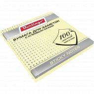 Бумага для заметок с клеевым краем «Berlingo» 76х76 мм, 100 листов.