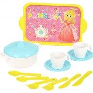 Набор игрушечной посуды «Хозяйка» 2 персоны.