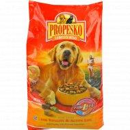 Корм сухой «Propesko» для собак говядина, курица и овощи, 10 кг.
