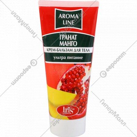 Крем-бальзам для тела «Aroma Line» гранат и манго, 180 мл.