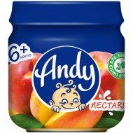 Пюре «Andy» из персиков, 80 г.