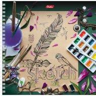 Тетрадь «SketchBook» 60 листов.