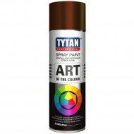 Аэрозольная краска «Tytan» коричневая RAL8017, 400 мл.