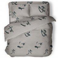 Комплект постельного белья «Samsara» Иероглифы, Евро, 220-2