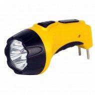 Фонарь «Smartbuy» аккумуляторный, 4 LED, желтый.