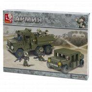 Конструктор детский «Sluban» сухопутные войска, M38-B0306.