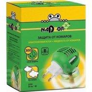 Комплект от комаров: жидкость + электрофумигатор «Nadzor», 30 ночей.