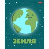 Тетрадь «Забавные планеты» в клетку, А5, 24 л.