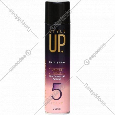 Лак для волос «Style Up» ультраобъем, 300 мл.