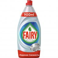Средство для мытья посуды «Fairy» platinum ледяная свежесть, 900 мл