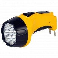 Фонарь аккумуляторный «Smartbuy» SBF-86-R, 7 LED, желтый.