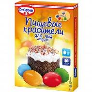 Пищевые красители «Д-р Оеткер» для яиц, жидкие, 20 мл