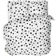 Комплект постельного белья «Samsara» White Stars, Евро, 220-14