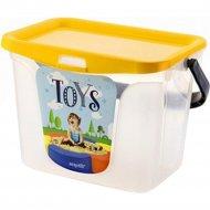 Емкость для игрушек «Toys» 6 л.