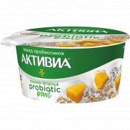 Биопродукт кисломолочный «Активиа» манго-микс семян 3.5%, 135 г