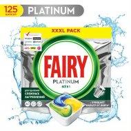 Капсулы для посудомоечных машин «Fairy» Platinum All in One, 125 шт