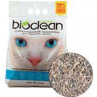 Наполнитель супервпитывающий «Bioclean» для кошачьего туалета, 6 л.