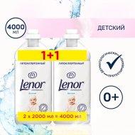 Кондиционер для белья «Lenor» концентрат детский, 4 л