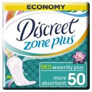 Женские гигиенические прокладки «Discreet» Deo Water Lily Plus Trio, 50 шт.