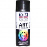 Аэрозольная краска «Tytan» черная глянец RAL9005, 400 мл.
