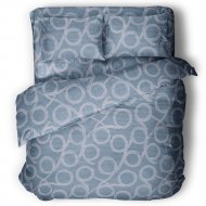 Комплект постельного белья «Samsara» Бесконечность Dark, Евро, 220-22