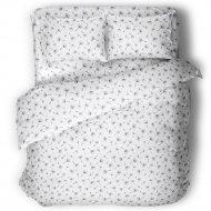 Комплект постельного белья «Samsara» Одуванчики White, Евро, 220-23