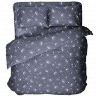 Комплект постельного белья «Samsara» Одуванчики Dark, Евро, 220-24
