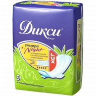 Гигиенические прокладки «Дикси» Lux night, 9 шт.