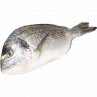 Рыба охлажденная «Дорадо» с головой, непотрошеная, 1 кг., фасовка 0.35-0.4 кг