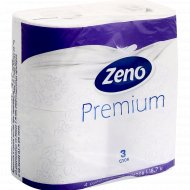 Бумага туалетная «Zeno» Premium Aroma, трехслойная, 4 рулона