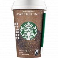 Молочный напиток «Starbucks» Cappuccino, 2.5 % 0,22 л.