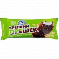 Мороженое сливочное «Крепкий орешек» с арахисом, 10%, 70 г.