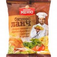 Лапша «Бизнес Меню» со вкусом тушеной курицы и луком, 45 г.