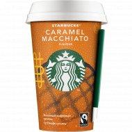 Молочный напиток «Starbucks» Caramel Macchiato, 1,6 % 0,22 л.