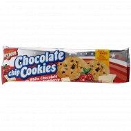 Печенье «Chocolate Cookies» с кусочками белого шоколада и клюквой, 150 г