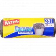 Пакеты для мусора «Nova» 35 л, 30 шт.