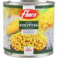 Кукуруза консервированная «Flora» 420 г.