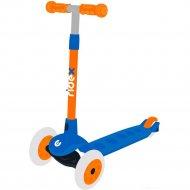 Самокат «Ridex» Hero, сине-оранжевый