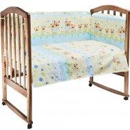 Комплект постельного белья «Fun Ecotex» Мишутка и зайка, 10057,голубой