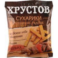 Сухарики «Хрустов» со вкусом шашлыка, 90 г.