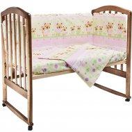 Комплект постельного белья «Fun Ecotex» Мишутка и зайка, 10057,розовый