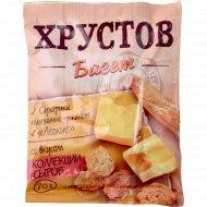 Сухарики пшенично-ржаные «Хрустов Багет»со вкусом коллекции сыров 70г.