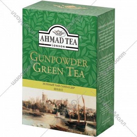 Чай зеленый листовой «Ahmad» Ганпаудер, 250 г.