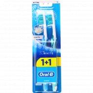 Зубная щетка «Оral-b» 3D white 1+1.