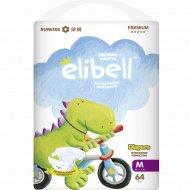 Детские подгузники «Elibell» M, 6-11 кг, 64 шт.