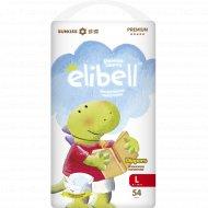 Детские подгузники «Elibell» L, 9-14 кг, 54 шт.