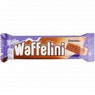 Вафля «Waffelini» с начинкой с какао, покрытая шоколадом, 31 г.