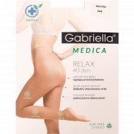 Колготки женские «Medica Relax» 40 den, 2 размер, бежевый.